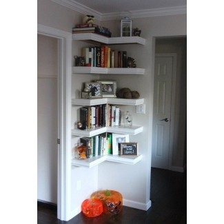 Ideas de estanterías para paredes de sala de estar