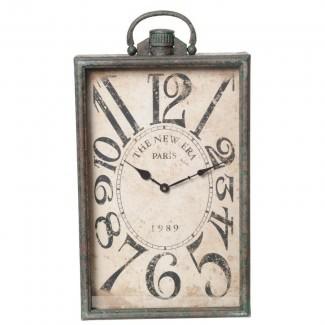 Reloj de pared rectangular Wilco