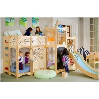 Casa de juegos interior para niños