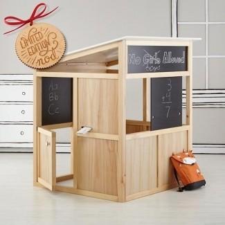 Casa de juegos de madera para interiores 2