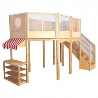Loft Market Playhouse [19659004] <b> Loft Market Playhouse </b><br /> Esta casa de juegos tipo loft de construcción de madera maciza bien hecha es un gran lugar para que jueguen los niños. Funciona muy bien en todos los lugares donde vienen los niños pequeños. Numerosos armarios y mucho espacio para jugar Aseguramos muchas opciones para usar </p> </p></div> </div> <div id=