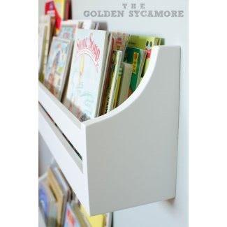 Estanterías para libros de pared para niños 2