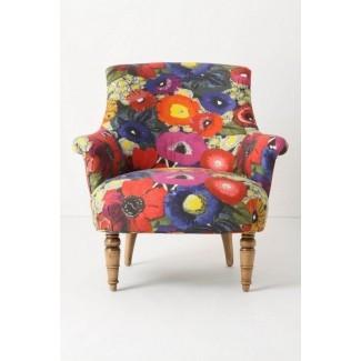 Sillas de tela floral
