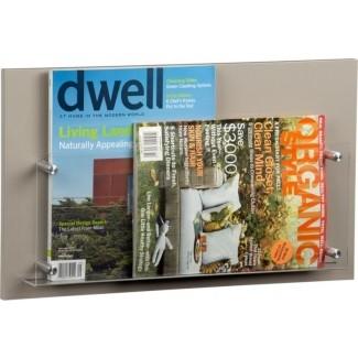 Soporte de pared para revistas