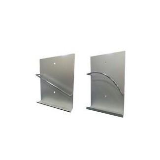 Cuadro de baño con revistero en pared soporte de pared