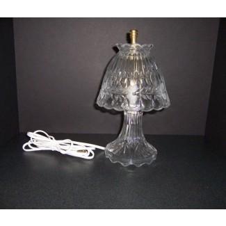 Lámpara de cristal de plomo de Princess house lámpara de cristal de plomo de Princess House