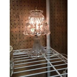 Lámparas de cristal vintage