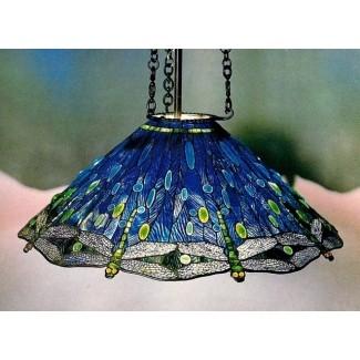 Lámparas de techo con vidrieras