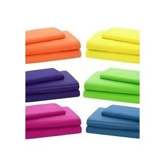 Ropa de cama de colores brillantes 6