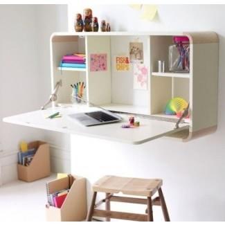 Pequeños escritorios tipo secretaria para espacios pequeños