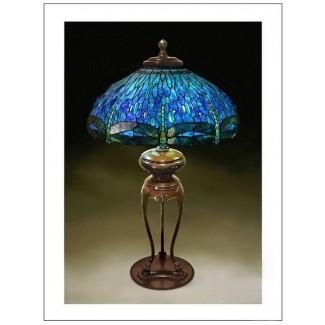 Lámpara Tiffany libélula