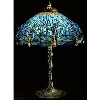 Lámparas de libélula estilo Tiffany