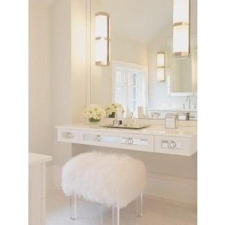 Espejo de tocador con luces para dormitorio