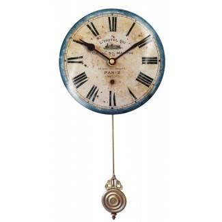 O menos relojes de pared reloj de pared de hotel francés 6 por