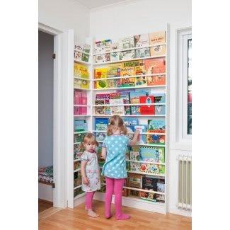 Estanterías de pared para niños