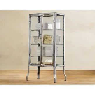 Gabinetes de vidrio y metal para curiosidades 3