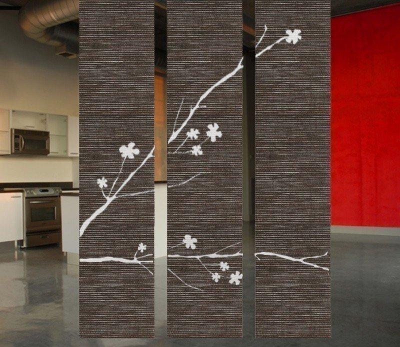 Separador de ambientes colgante Shanickers Blossoms