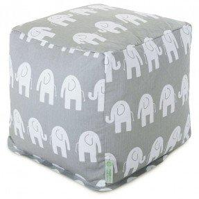 Ellie Small Cube Ottoman