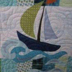 Patrón de colcha náutica