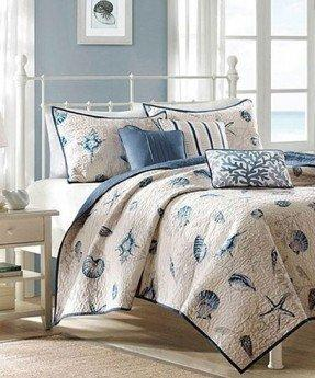 Ropa de cama con temática del océano