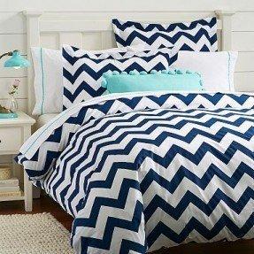 Ropa de cama con colcha náutica 7